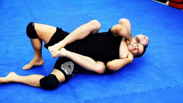 ZR. How to Escape Back Attacks in MMA Fighting Promo Image
