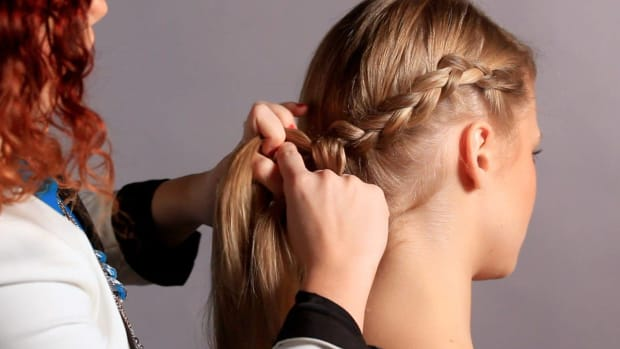 B. How to Start a French Braid Headband Promo Image