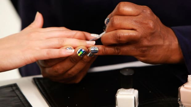T. How to Do an American Manicure & Brazilian Manicure Promo Image