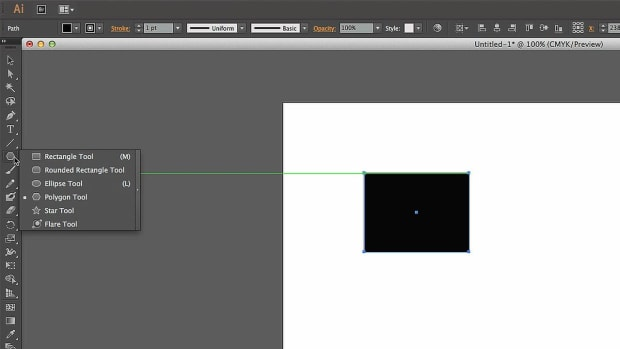 F. How to Create Polygons with Adobe Illustrator Promo Image