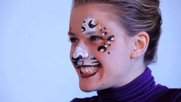 K. How to Paint a Cheetah or Leopard with Face Paint Promo Image