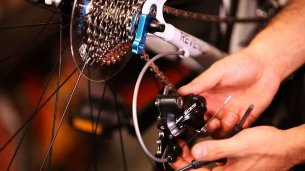 ZP. How to Replace a Rear Derailleur on a Bike Promo Image