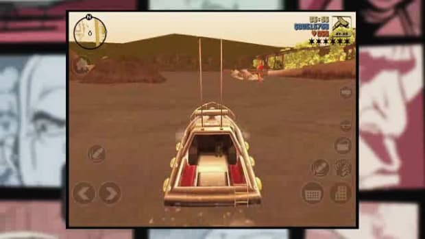ZF. GTA3 iOS Walkthrough Part 32 - Gone Fishing Promo Image