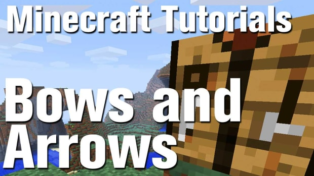 X. Minecraft Tutorial: How to Make a Bow and Arrow Promo Image