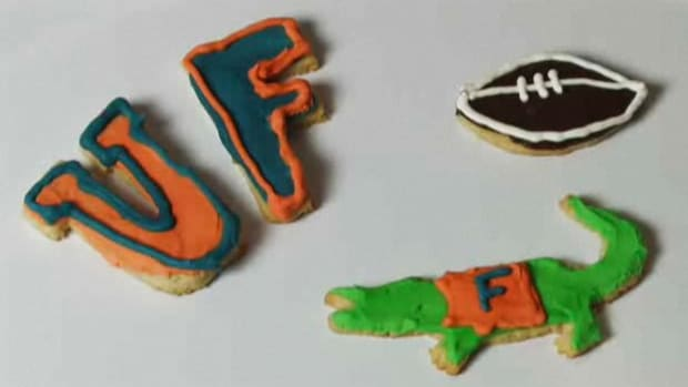 F. How to Decorate Cookies for a University of Florida Game Promo Image