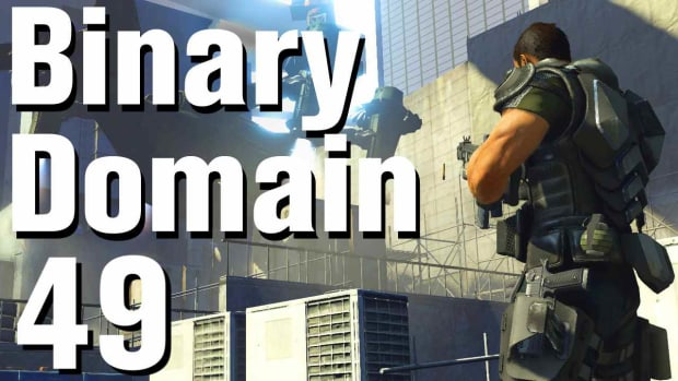 ZW. Binary Domain Walkthrough Part 49 - Denying Destiny Promo Image