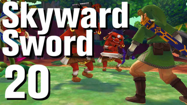 T. Zelda: Skyward Sword Walkthrough Part 20 - Skyview Temple Promo Image