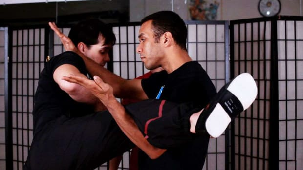 ZM. How to Do a Lau Gerk aka Kick Defense in Wing Chun Promo Image