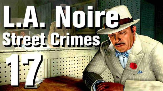"Q. L.A. Noire Walkthrough Street Crimes 17: ""Running Battle"" Promo Image"