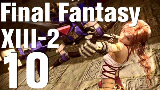 J. Let's Play Final Fantasy XIII-2 Part 10 - Gogmagog Beta Promo Image