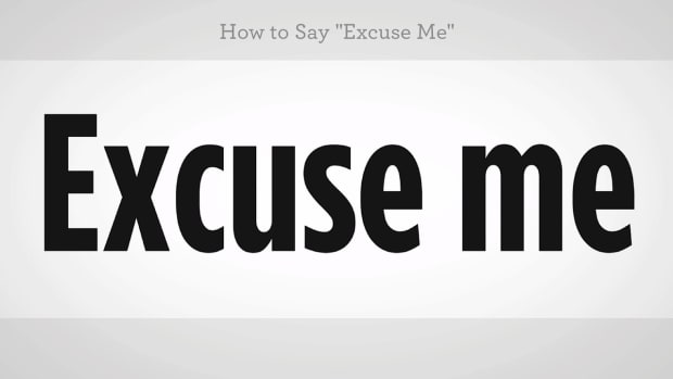 "N. How to Say ""Excuse Me"" in Mandarin Chinese Promo Image"