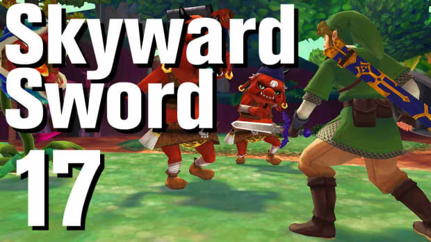 Q. Zelda: Skyward Sword Walkthrough Part 17 - Skyloft Bug Net Promo Image