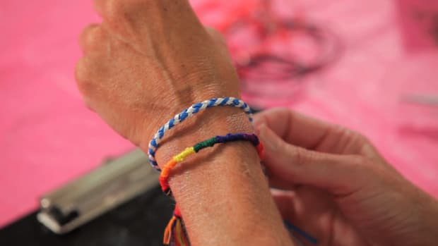 V. How to Make a Spiral Friendship Bracelet with Lanyard Promo Image