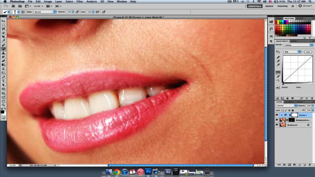F. How to Whiten Teeth in Photoshop Promo Image