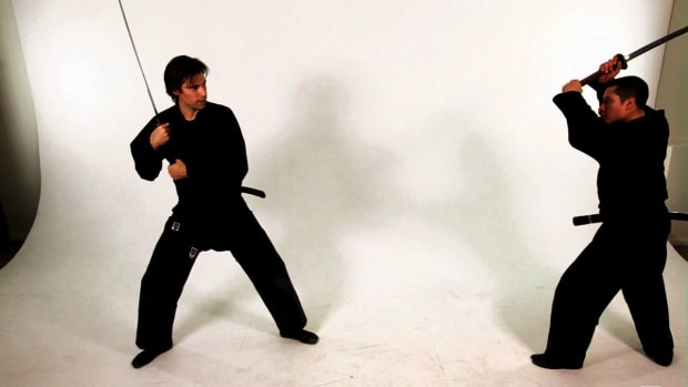 S. How to Cross Forward & Cross Back with a Katana Sword Promo Image