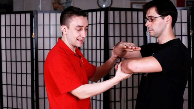 ZW. How to Do Chum Kiu Paai Jaang aka Hacking Elbow in Wing Chun Promo Image