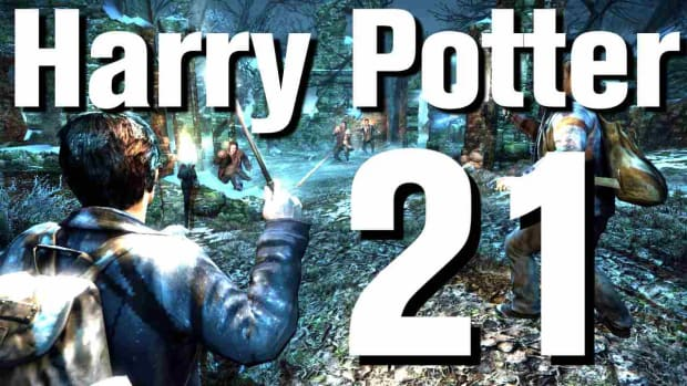 T. Harry Potter and the Deathly Hallows 2 Walkthrough Part 21: Battle of Hogwarts Promo Image