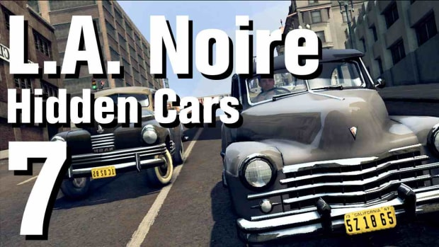 "G. L.A. Noire Walkthrough Hidden Cars 07: ""Delage D8 120 S Poutout Aero-Co"" Promo Image"