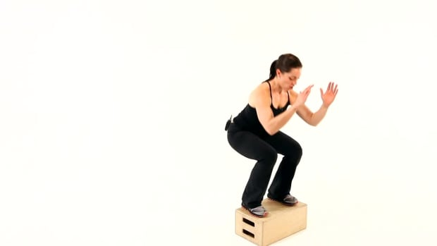 U. How to Do a Box Jump for a Boot Camp Workout Promo Image