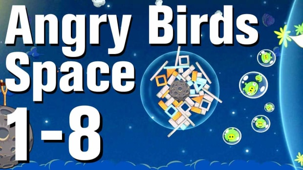 H. Angry Birds: Space Walkthrough Level 1-8 Promo Image