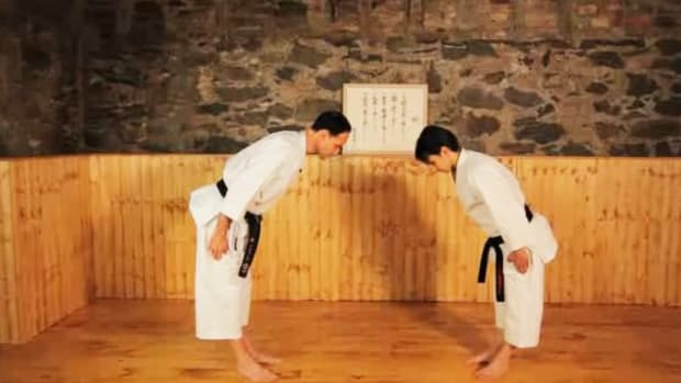 K. How to Do Block & Counter Techniques in Karate Promo Image