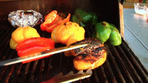 K. How to Make Grilled Bell Peppers Promo Image