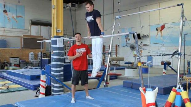 ZC. Gymnastics Bars Moves Promo Image