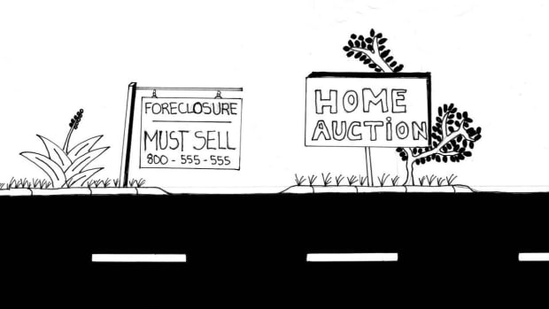 K. How to Score a Bargain at a Foreclosure Auction Promo Image