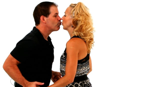 ZB. How to Do the West Coast Swing Sugar Push in Swing Dance Promo Image