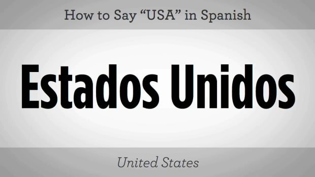 "W. How to Say ""USA"" in Spanish Promo Image"