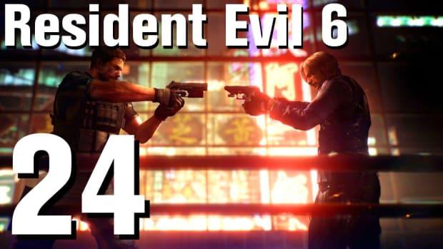 X. Resident Evil 6 Walkthrough Part 24 - Chapter 3 Promo Image
