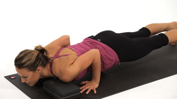 O. How to Do a High Plank to Low Plank (Chaturanga Dandasana) Promo Image