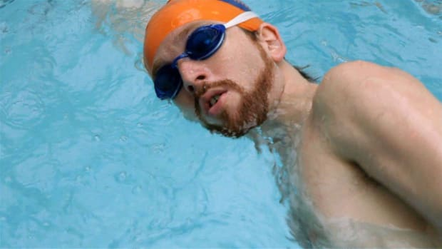 C. How to Breathe during a Front Crawl Swimming Stroke Promo Image