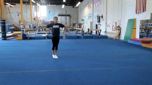 S. Gymnastics Tumbling Practice Tips Promo Image