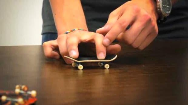 A. Tech Deck Fingerboarding Basics Promo Image