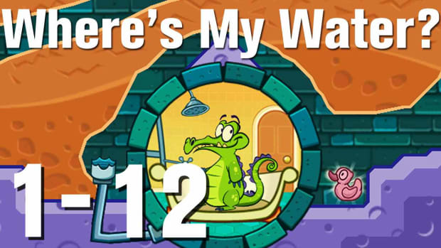 L. Where's My Water Walkthrough Level 1-12 Promo Image
