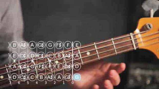 X. How to Play a D Note on Bass Guitar Promo Image
