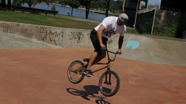 K. How to Do a 180 on a BMX Promo Image