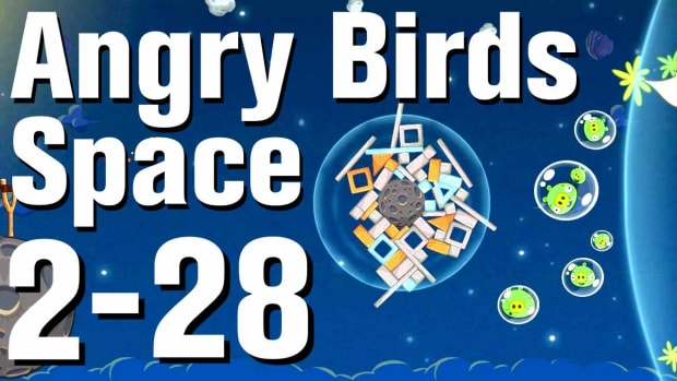 ZZF. Angry Birds: Space Walkthrough Level 2-28 Promo Image