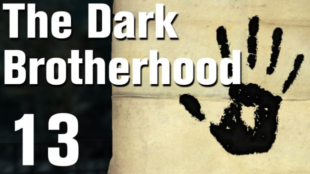 E. Skyrim Dark Brotherhood Walkthrough Part 13 - Recipe for Disaster [Commentary / HD] Promo Image