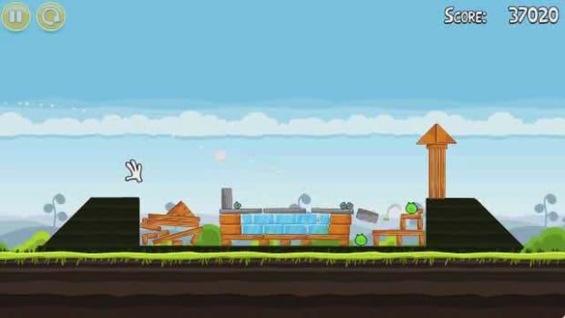 B. Angry Birds Level 4-2 Walkthrough Promo Image