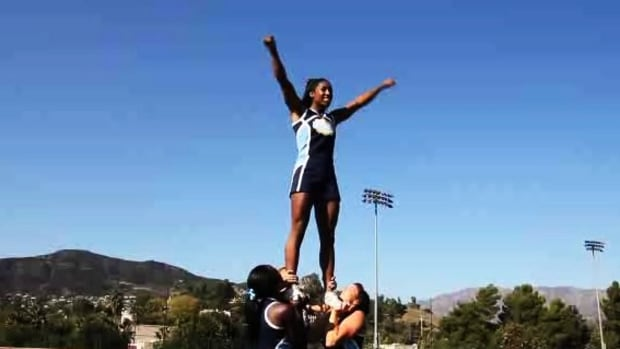 Q. What Is Basic Stunting Technique for Cheerleading? Promo Image