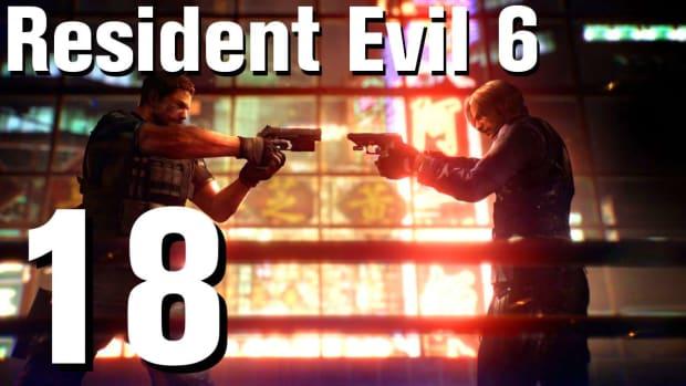 R. Resident Evil 6 Walkthrough Part 18 - Chapter 2 Promo Image