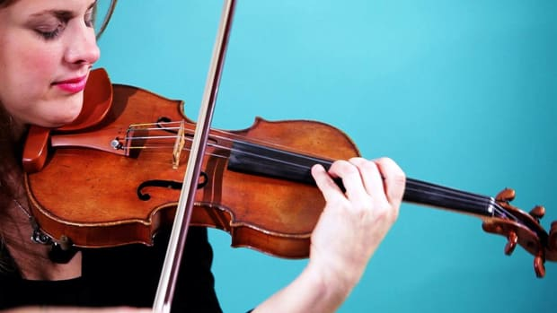 ZN. How to Play an A String on Violin Promo Image