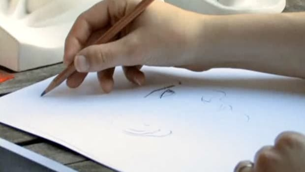 B. How to Draw a Caricature Promo Image