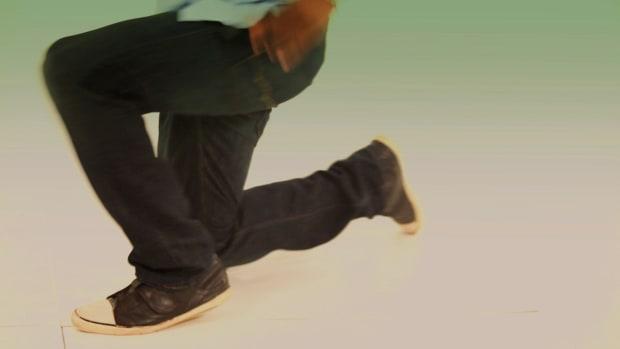 D. How to Do a Knee Spin & Knee Slide Hip-Hop Combo Promo Image