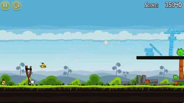N. Angry Birds Level 4-14 Walkthrough Promo Image