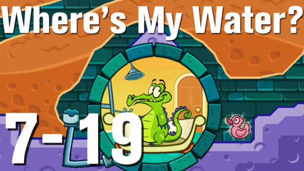 ZZZZZI. Where's My Water Walkthrough Level 7-19 Promo Image