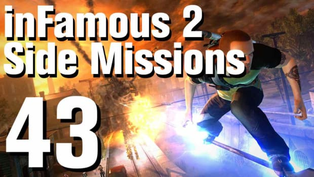 ZZZK. inFamous 2 Walkthrough Side Missions Part 43: Double Whammy Promo Image