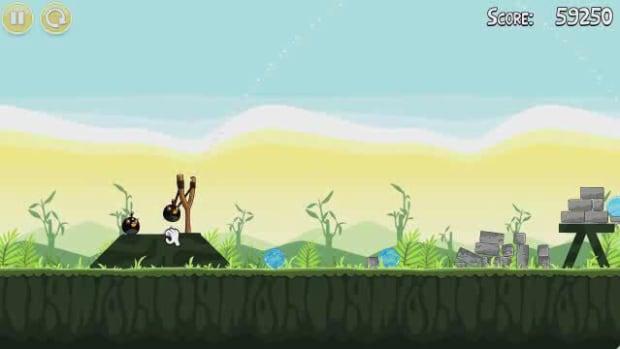 K. Angry Birds Level 2-11 Walkthrough Promo Image